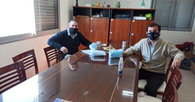 Visita del equipo de la Diputada Lehmann Comuna de San Agustín