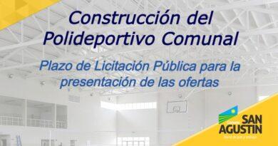 Licitación Polideportivo Comuna de San Agustín