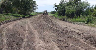 Tareas caminos Comuna de San Agustín